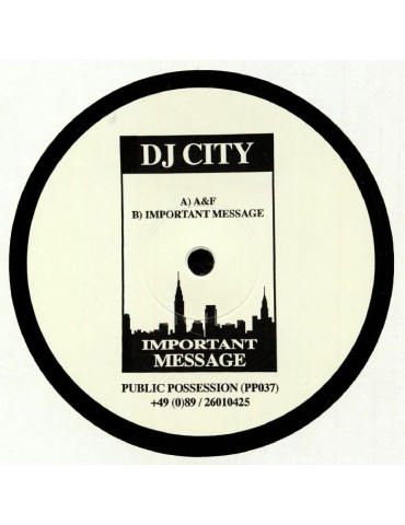 DJ City – Important Message