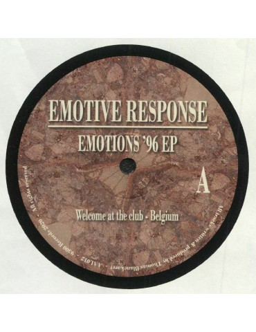 Emotive Response – Emotions...