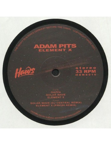 Adam Pits – Element X