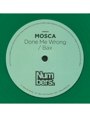 Mosca – Bax / Done Me Wrong...