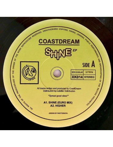 Coastdream ‎– Shine EP