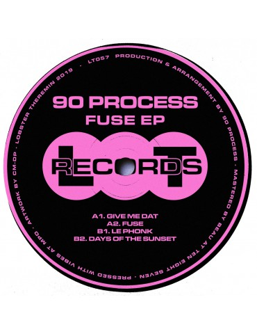 90 Process ‎– Fuse EP