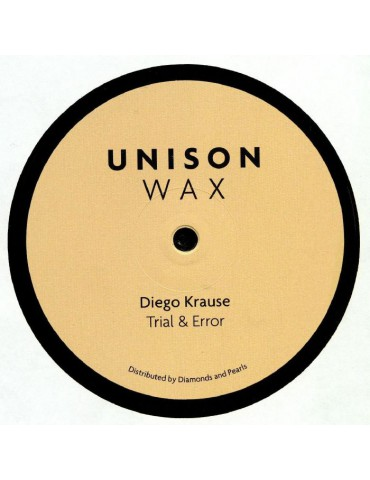 Diego Krause ‎– Trial & Error