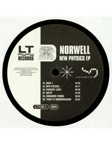 Norwell ‎– New Physics EP