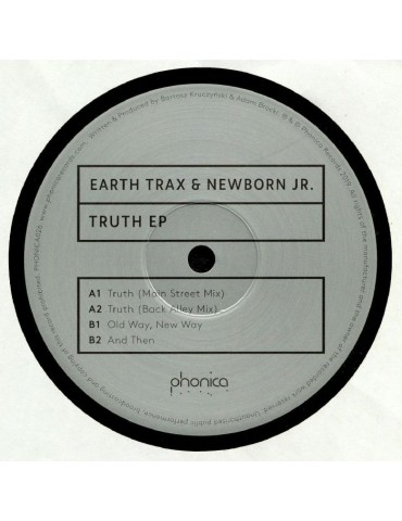 Earth Trax & Newborn Jr. ‎–...