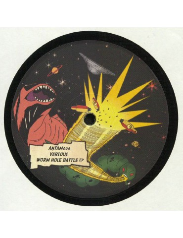 Various ‎– Worm Hole Battle EP