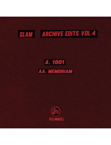 Slam ‎– Archive Edits Vol. 4