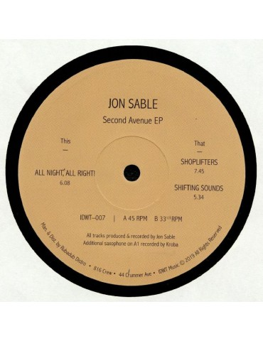 Jon Sable – Second Avenue