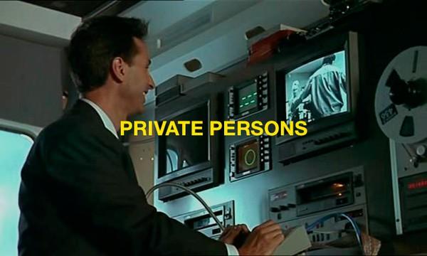 PRIVATE PERSONS